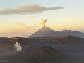 Mahameru-volcano
